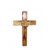 Catholic Cross with Dove (8 inches)