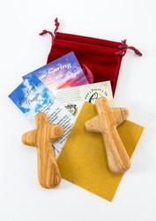 Healing Crosses - 2 Large crosses for Sanding / Painting