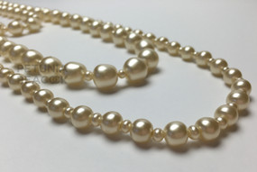 CHANEL CLASSIC TRIPLE STRAND PEARL NECKLACE