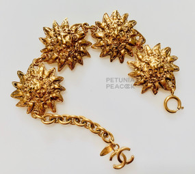 CHANEL LION MEDALLION BRACELET