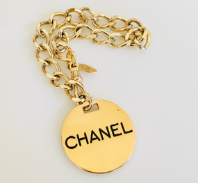 CHANEL PARIS DOUBLE SIDED CHARM BRACELET