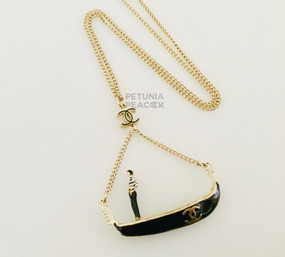 CHANEL PARIS VENICE GONDOLA NECKLACE