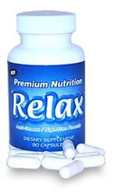 Relax - Stress Relief Supplement