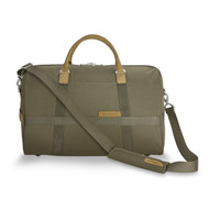 The shoulder strap can be seen here along with the front of the bag.