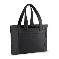 Rear shot of Large Shopping tote by Briggs & Riley in black.