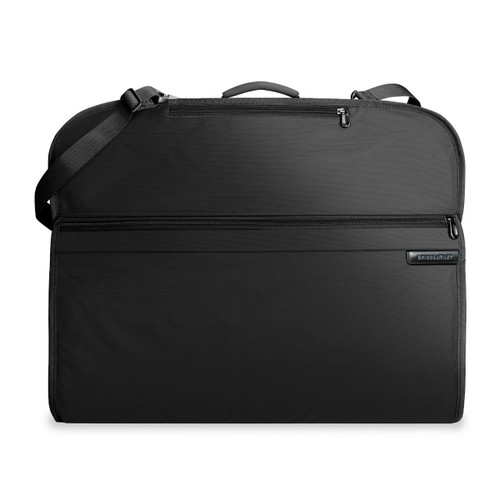 Front shot of Classic Garment Cover in black.