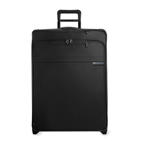 Front shot of Large Expandable Upright in black.