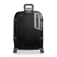 Front shot of Explore Large Expandable Spinner in black.