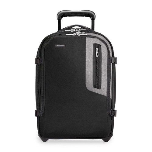 Front shot of Explore Commuter Expandable Upright in black.
