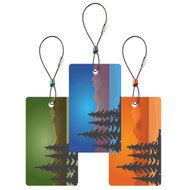 Trees Luggage Tags