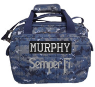 Deluxe Tactical Range and Gear Bag embroidery