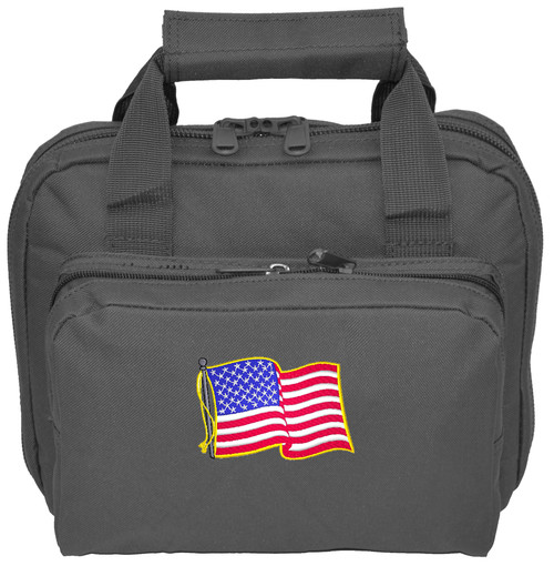 Range Hand Gun Case with embroidery