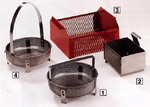 Parts Basket Expanded metal sides and bottom. General purpose PN: L-8