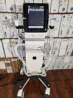 GE Venue 40 Ultrasound with two Transducers 12L-Sc and 4C-Sc