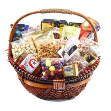 Wicker Gift Basket with handle | Gift Basket | Wicker | handwoven