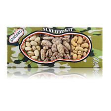 austiNuts The Ultimate Snack Kit includes Praline Pecans, Salted Cashews & Pistachios in the Shell.