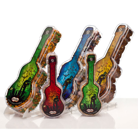 """austiNuts Larger Guitar is a great gift from Austin - Live Music Capital of the World.  Guitar size: 12"""" x 5"""" x 2"""""""