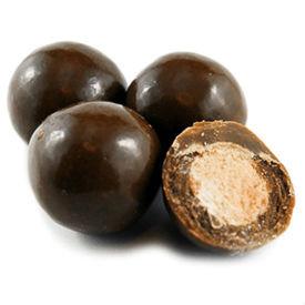 austiNuts Milk Chocolate Malt Balls melt in your mouth!   Contains: 100% Pure Milk Chocolate, Chocolate Liquor, Cocoa Powder, Maltball Nugat Flour, Whole Milk, Vanilia, Confectioners Glaze Price per 1lb.
