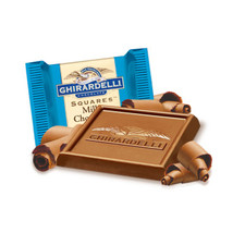 austiNuts carries Ghirardelli® Milk Chocolate Squares to help you complete your perfect gift basket, care package, or if you are just in the mood for chocolate.  Save the legendary taste of our milk chocolate, a proprietary blend of deep-roasted cocoa beans. Tantalizingly creamy, our Milk Chocolate SQUARES make a sweet gift for all the chocolate lovers in your life and show you've got great taste.