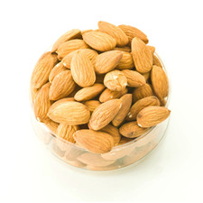 Dry Roasted Almonds | all natural whole almonds