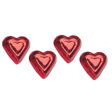Beautiful individual wrapped Milk Chocolate Hearts by austiNuts to help you customize any basket, or gift, for that special someone.