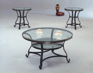 Jessica 3 Piece Coffee & End Tables