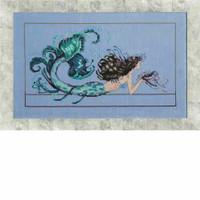 Mermaid Undine Kit Cross Stitch Chart Fabric Beads Silk Floss Nora Corbett Mirabilia MD134