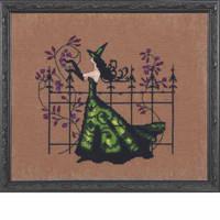 Gwen Kit Cross Stitch Chart Fabric Beads Nora Corbett NC220 Mirabilia Designs
