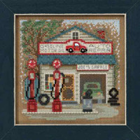 Joe's Garage Cross Stitch Kit Mill Hill 2016 Buttons & Beads Spring MH141614