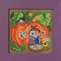Mouse House Cross Stitch Kit Mill Hill 2016 Buttons & Beads Autumn