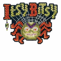 Bitsy Spider Bead Cross Stitch Kit Mill Hill 2016 Autumn Harvest MH181621