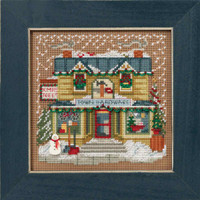Town Hardware Cross Stitch Kit Mill Hill 2016 Buttons & Beads Winter MH141631