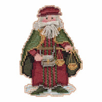 Venice Santa Cross Stitch Kit Mill Hill 2016 Renaissance Santas MH201631