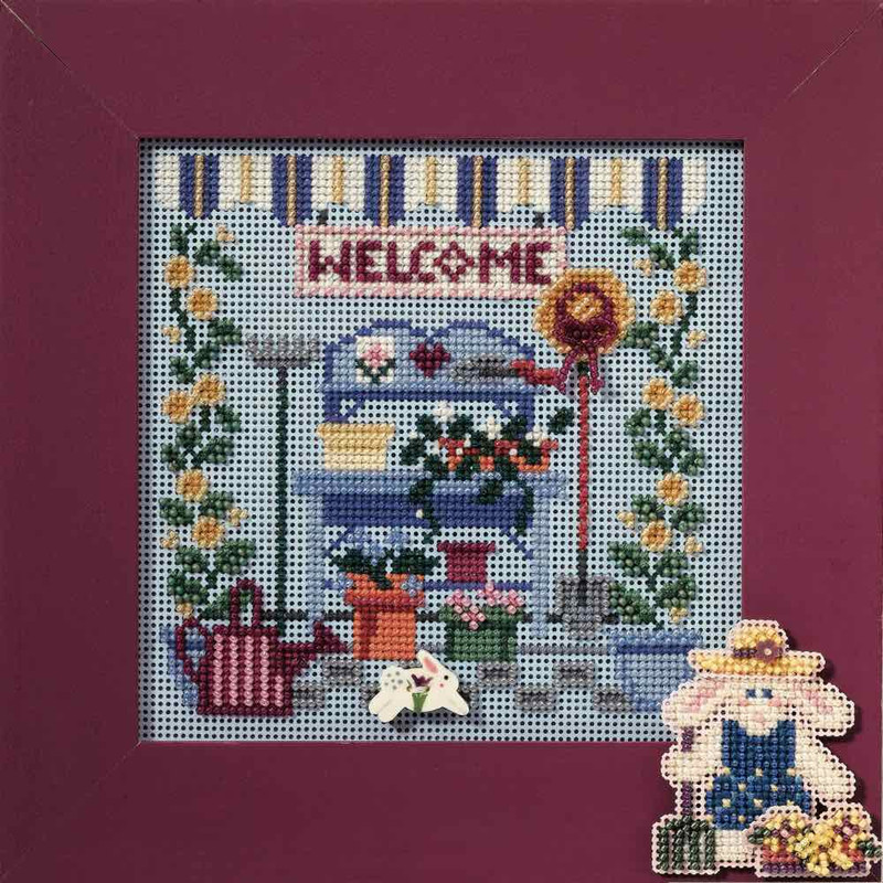 Yard Sale Cross Stitch Kit Mill Hill 2013 Buttons /& Beads Spring
