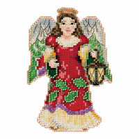 Angel with Lantern Counted Cross Stitch Kit Mill Hill 2016 Jim Shore JS201612