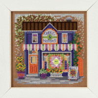 Fabric Shoppe Cross Stitch Kit Mill Hill 2017 Buttons & Beads Spring MH141713