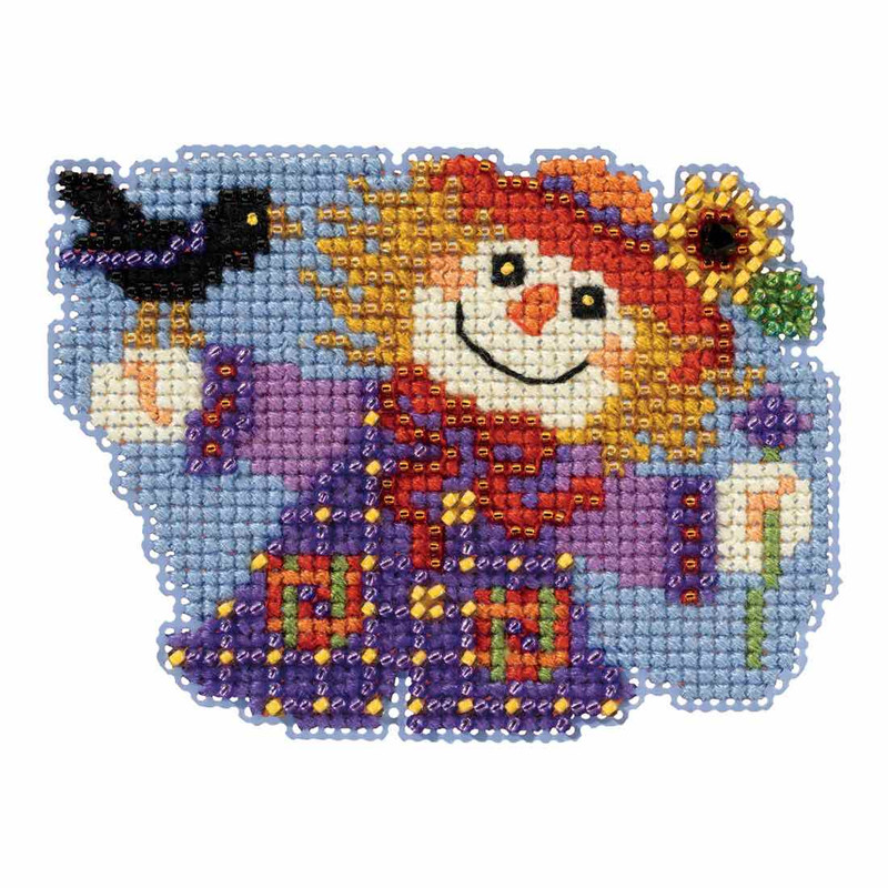 Autumn Harvest 2017 Mill Hill Counted Glass Bead Kit w//Treasure Let Go