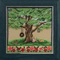 Summer Oak Cross Stitch Kit Mill Hill 2017 Mighty Oak Quartet MH171713