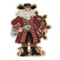 Jamaica Santa Cross Stitch Kit Mill Hill 2017 Caribbean Santas MH201731