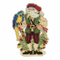 Trinidad Santa Cross Stitch Kit Mill Hill 2017 Caribbean Santas MH201732