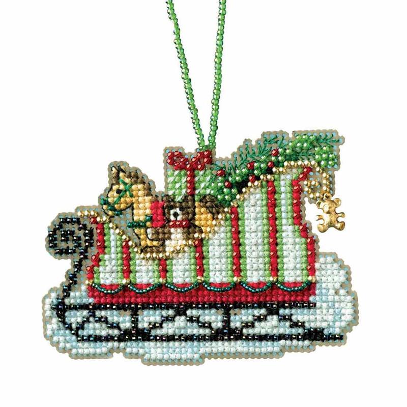 Caribbean Santa Trinidad Christmas Mill Hill Buttons Beads Cross Stitch Kit
