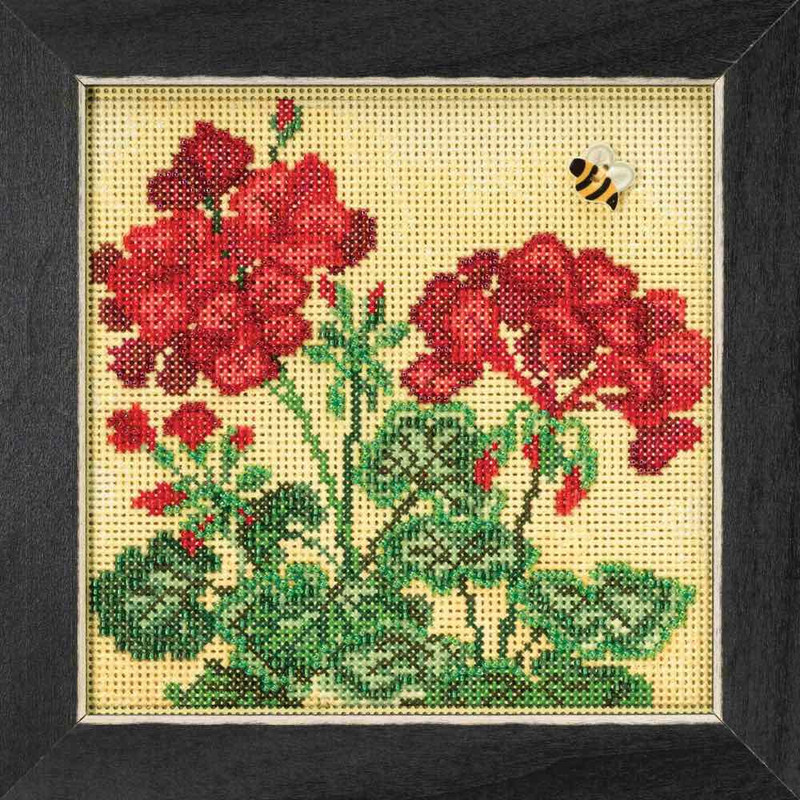 Spring Series Crab Buttons /& Beads Mill Hill Cross Stitch