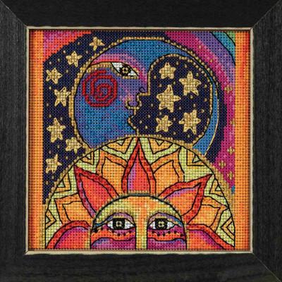 Celestial Joy Cross Stitch Kit Mill Hill 2018 Laurel Burch LB141815