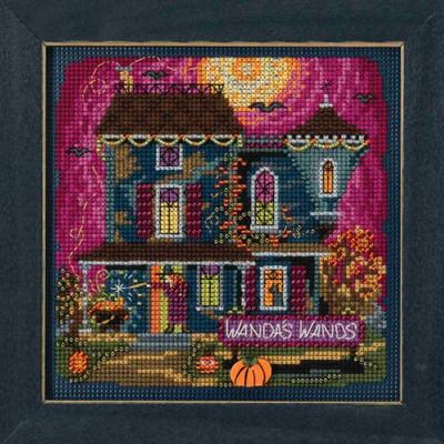 Wanda's Wands Cross Stitch Kit Mill Hill 2018 Buttons & Beads Autumn MH141822