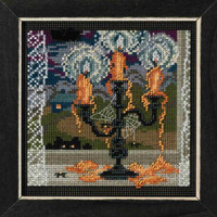 Midnight Glow Cross Stitch Kit Mill Hill 2018 Buttons & Beads Autumn MH141826
