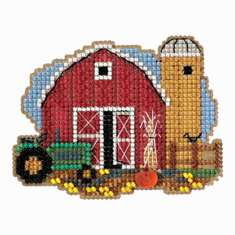Mummy Bead Cross Stitch Kit Mill Hill 2018 Autumn Harvest MH181825