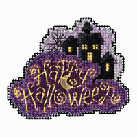 Moonlit Night Bead Cross Stitch Kit Mill Hill 2018 Autumn Harvest MH181822