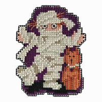 Mummy Bead Cross Stitch Kit Mill Hill 2018 Autumn Harvest MH181825