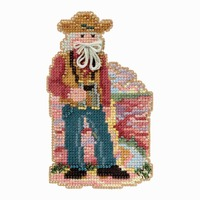Grand Canyon Santa Cross Stitch Kit Mill Hill 2018 National Park Santas MH201832