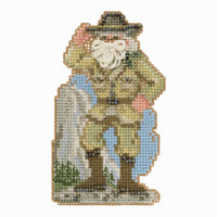 Yosemite Santa Cross Stitch Kit Mill Hill 2018 National Park Santas MH201833